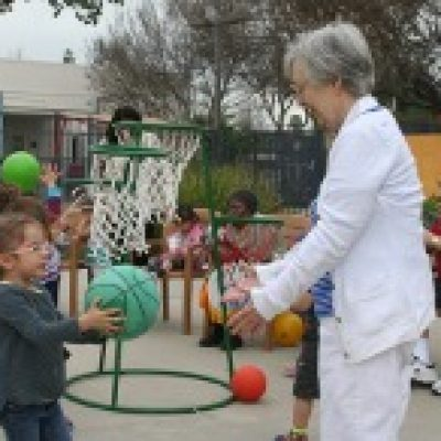 Outdoor play at ONEgeneration